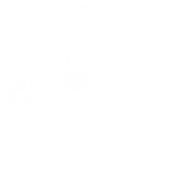 "Logo bianco ""cà del monte"""