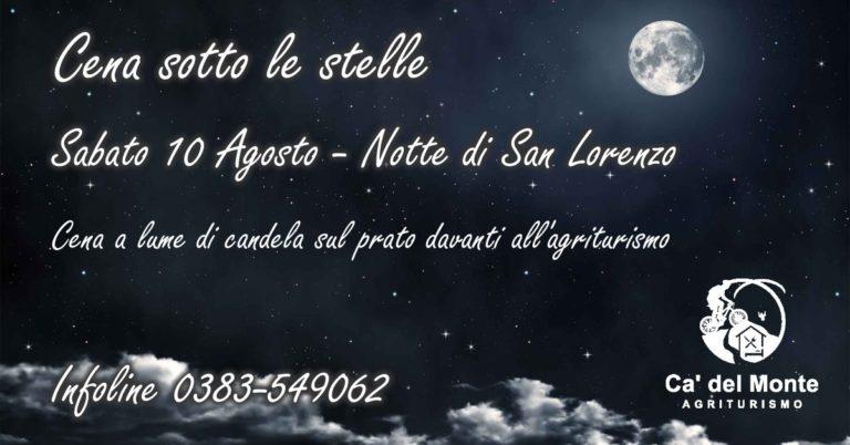 Immagine promozionale notte di san lorenzo